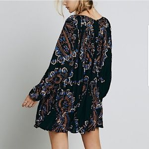 Free People Tops - Free People woven dress intricate mini swing tunic